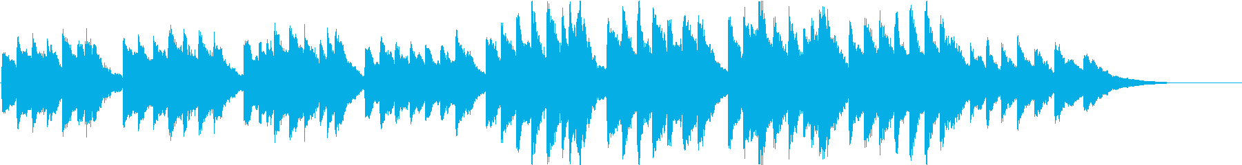 時報・チャイム風の名曲のメロディ・27の再生済みの波形