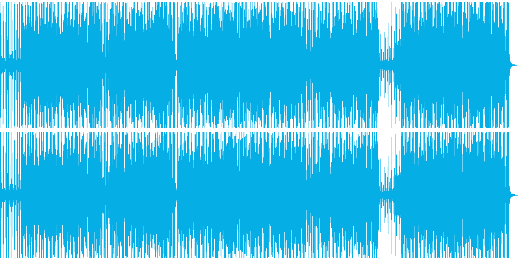 アップテンポで滑らかな心地よいジャズの再生済みの波形