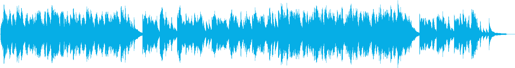 二胡とピアノのしっとりと切ないBGMの再生済みの波形