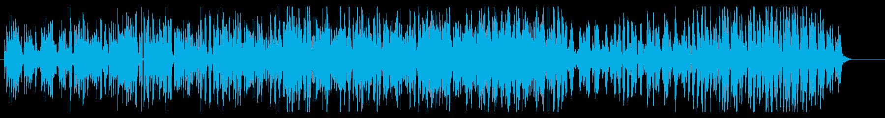心がふわんふわんする のびのびBGMの再生済みの波形