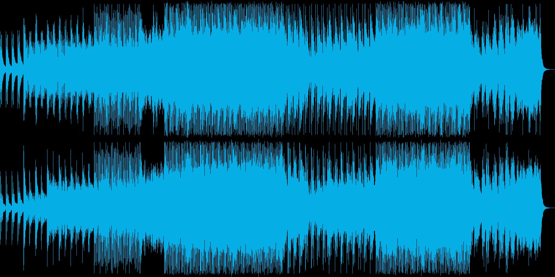 海をイメージしたアンビエント系EDMの再生済みの波形