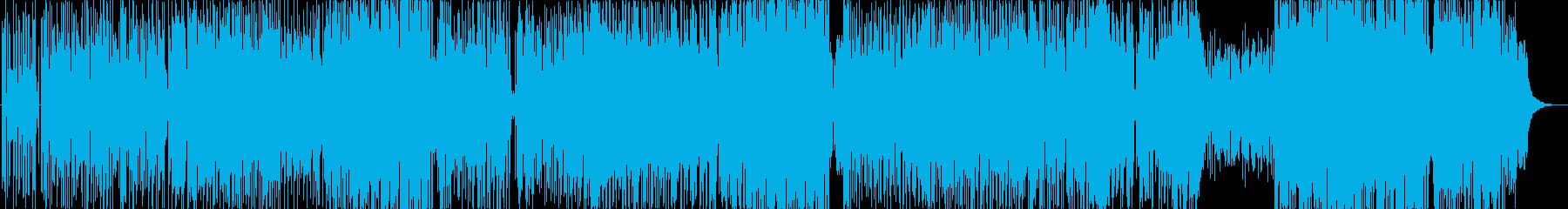 王道フュージョンにしてキャッチーな一曲の再生済みの波形