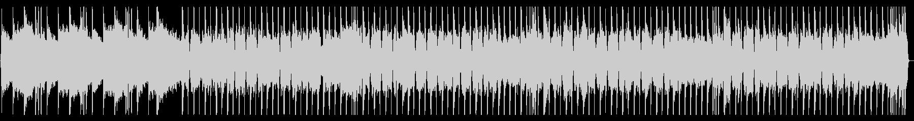 ロックギター、リフが繰り返されるBGM4の未再生の波形