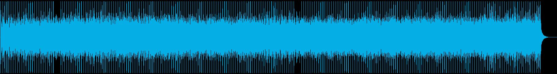 ピアノが爽やかなストリングスロックの再生済みの波形