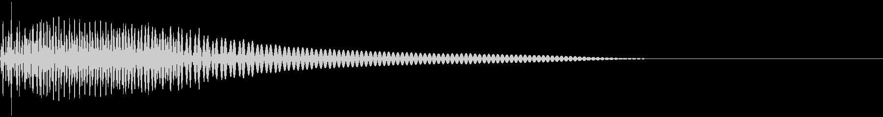 ベース/ドゥーン/ネックスライド/A08の未再生の波形
