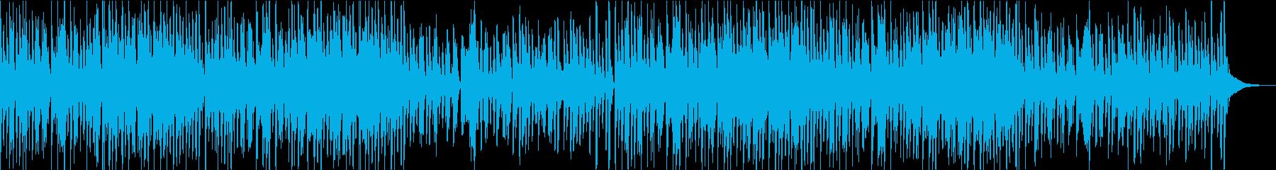 気持ちが高まる曲/EDM の再生済みの波形