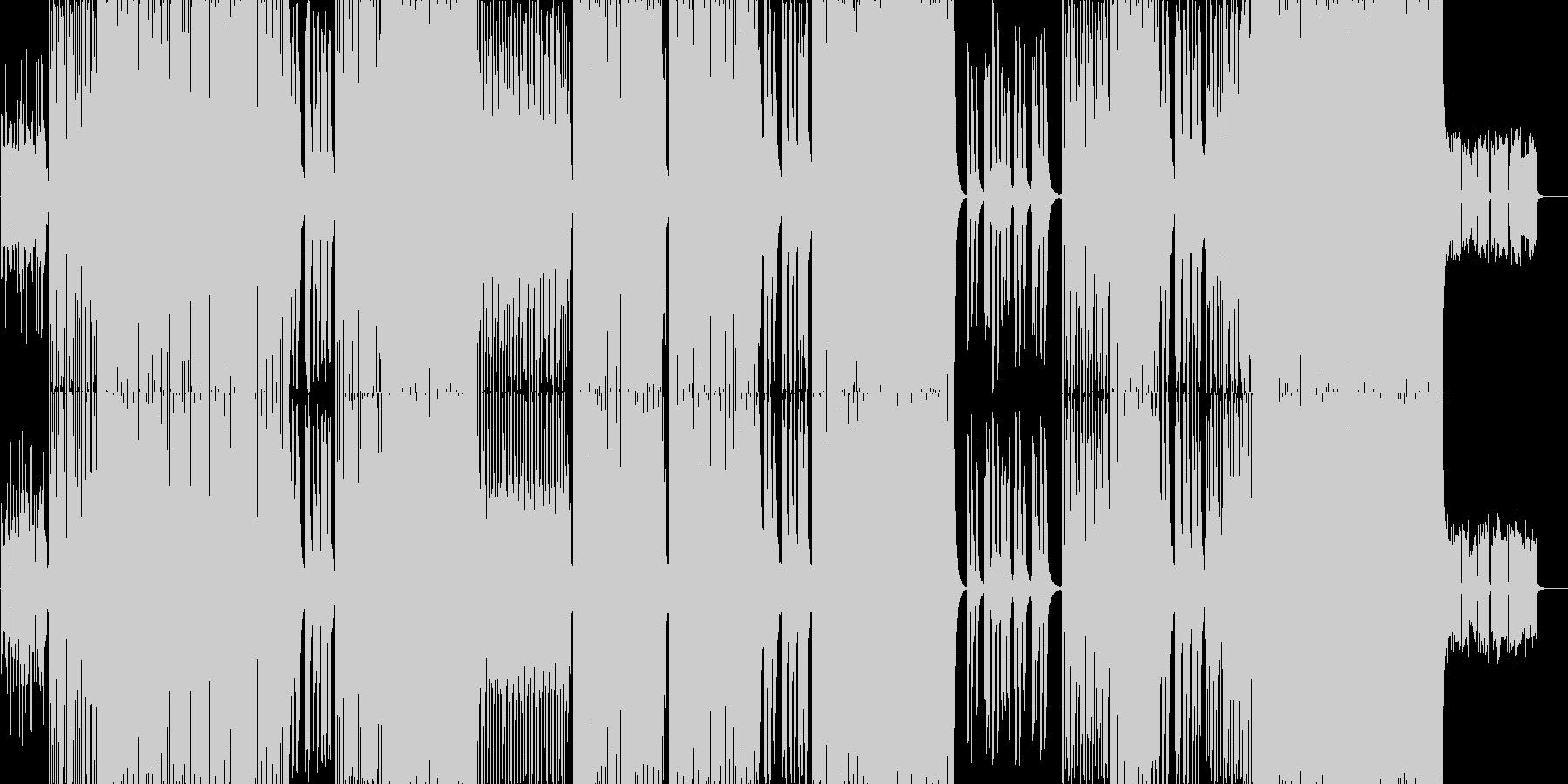 electro pop です。の未再生の波形