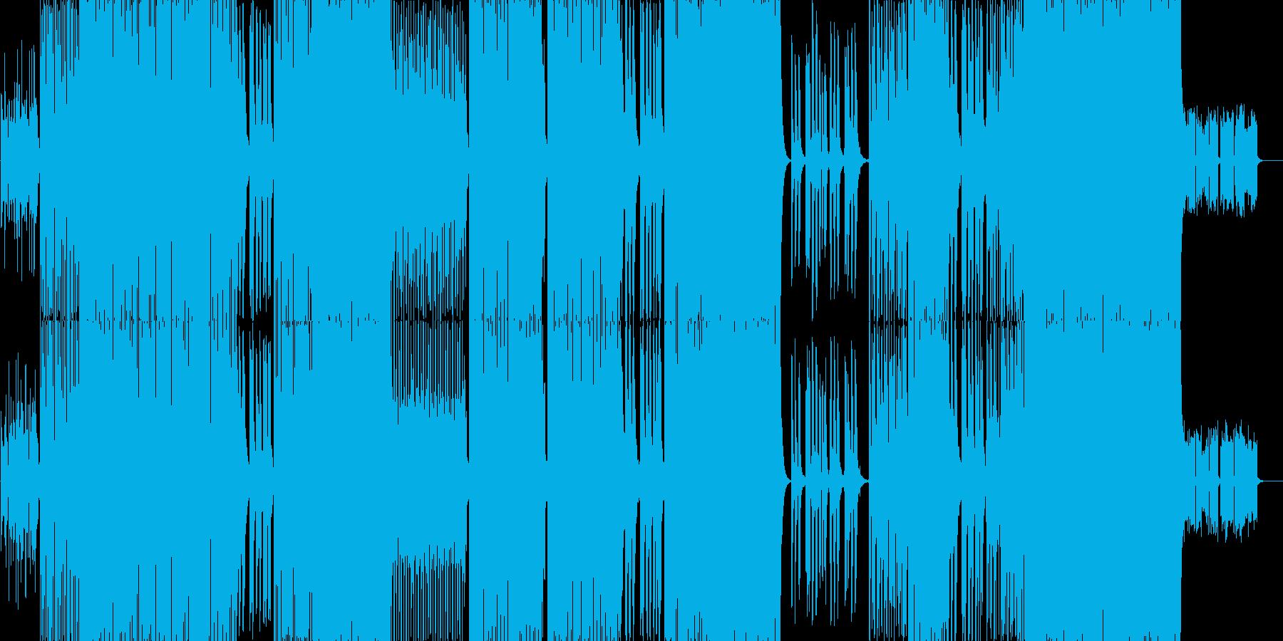 electro pop です。の再生済みの波形