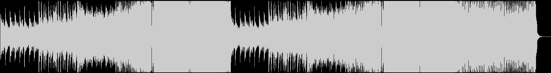 シネマチックなEDMの未再生の波形