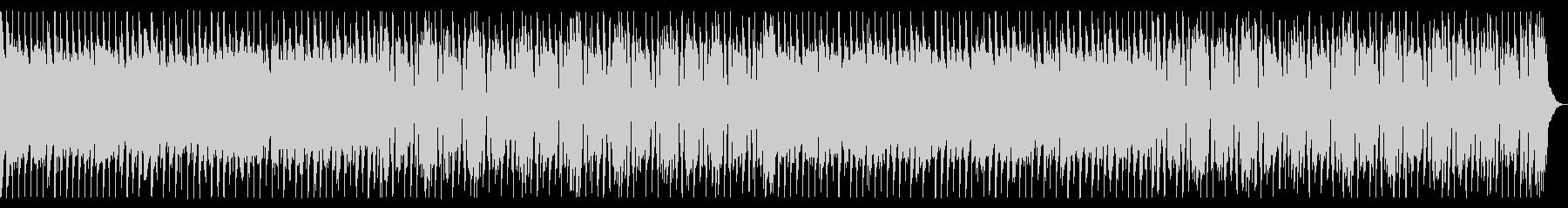 シンプルなギターロックの未再生の波形