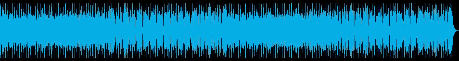 シンプルなギターロックの再生済みの波形