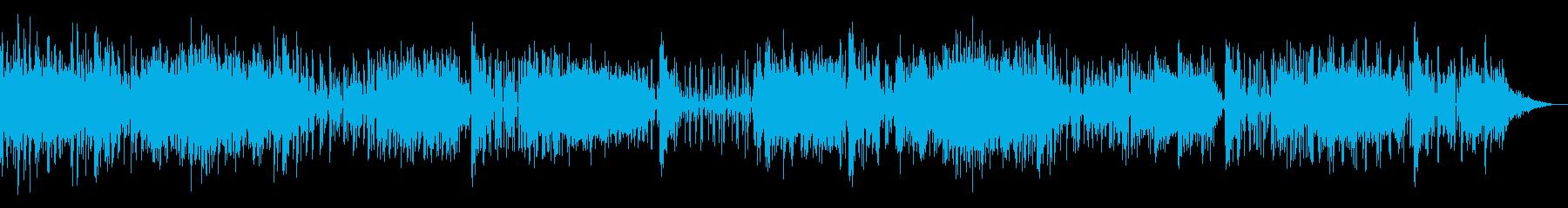 ロボティックなシンプルIDMの再生済みの波形