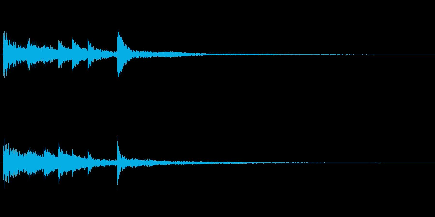 不安定、不可解、不気味なピアノソロ 04の再生済みの波形