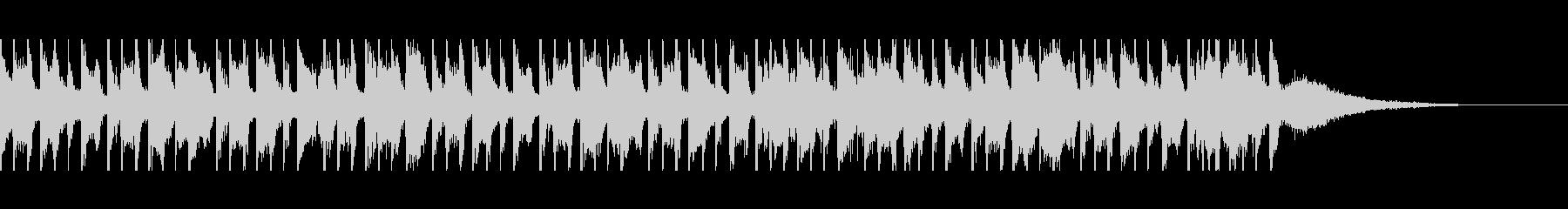 ベリーダンス(30秒)の未再生の波形