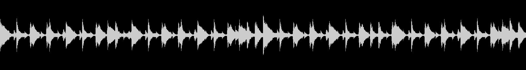 ドラムブレイクの未再生の波形