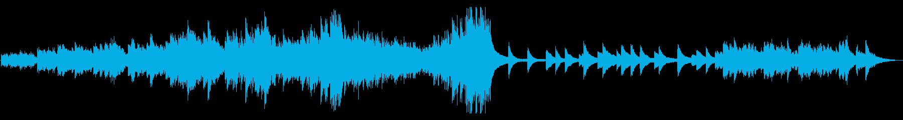 ピアノソロ始まりを想起させる高原の風の再生済みの波形