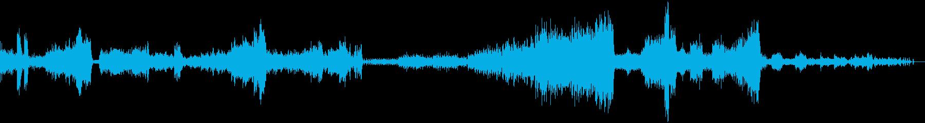 繊細で壮大なクラシック音楽の再生済みの波形