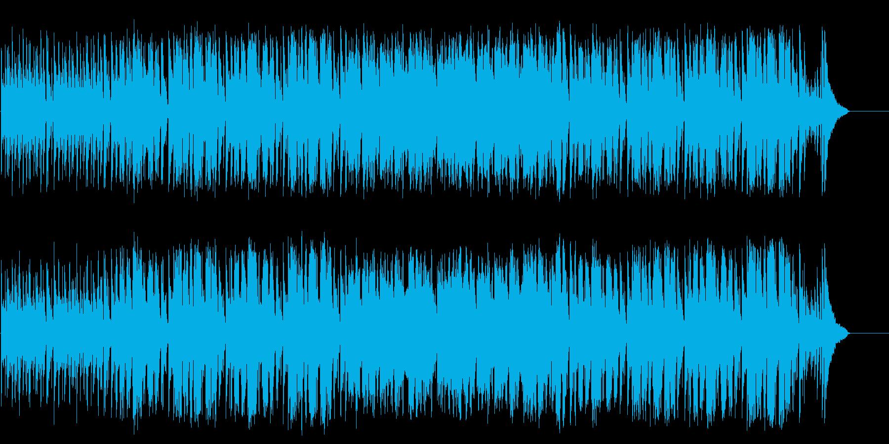 陽気なデキシー風ジャズポップの再生済みの波形