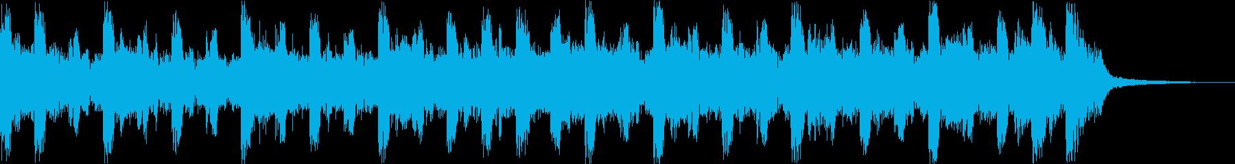 軽快で爽やかなオープニングコーポレートcの再生済みの波形