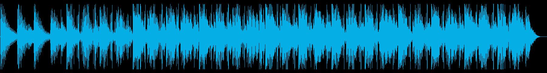 海/生演奏/R&B_No607_3の再生済みの波形