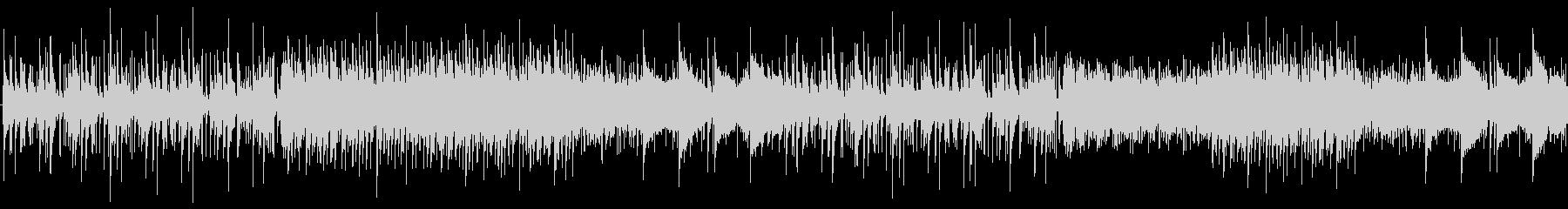 ピアノと和楽器を使ったアンビエントの未再生の波形