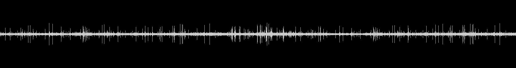レコードノイズ Lofi ヴァイナル02の未再生の波形