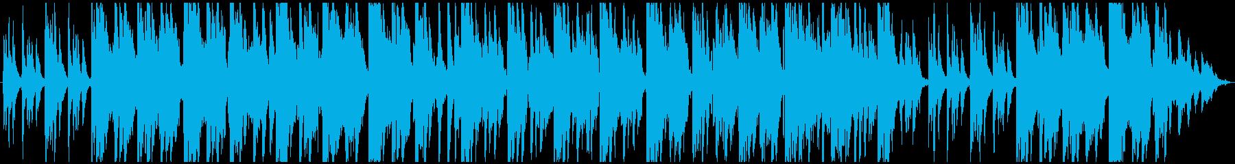 自然系ダンジョン向け、静かでミステリアスの再生済みの波形