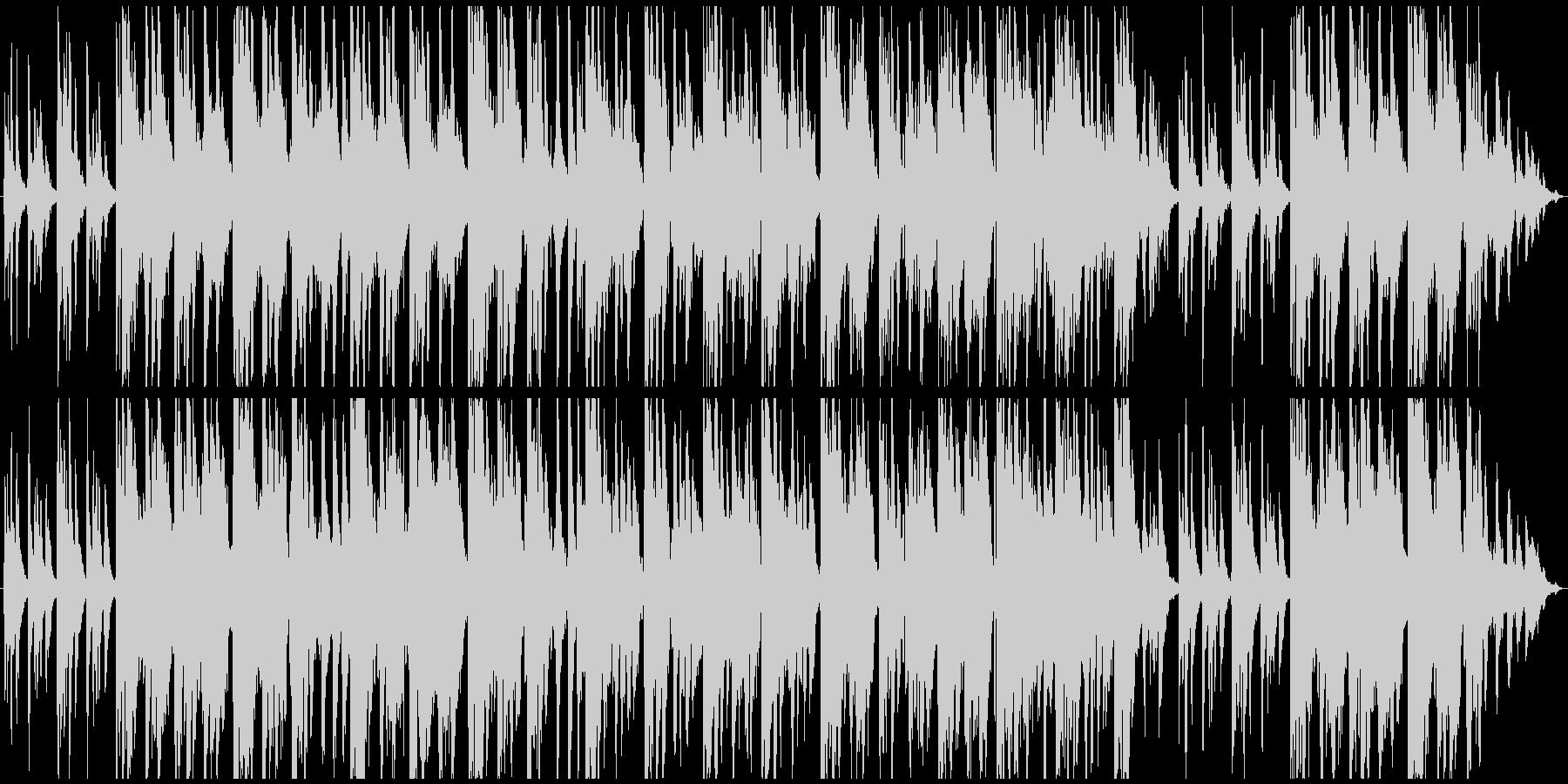 自然系ダンジョン向け、静かでミステリアスの未再生の波形