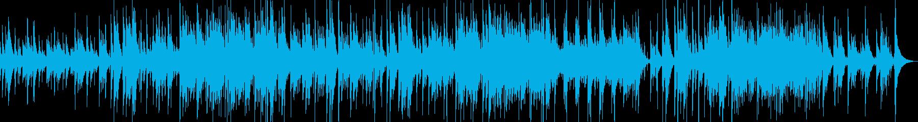 バラード・懐かしさ・優しいの再生済みの波形