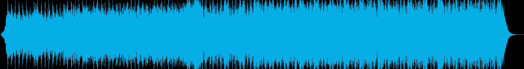 映画の予告編の再生済みの波形