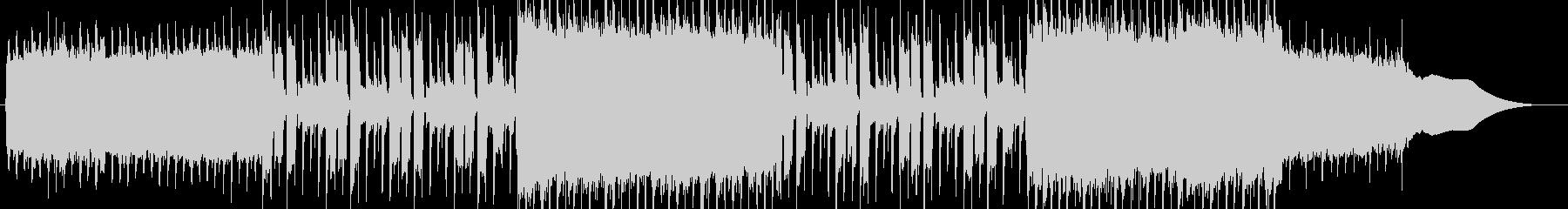 壮大なイメージのEDMロックの未再生の波形