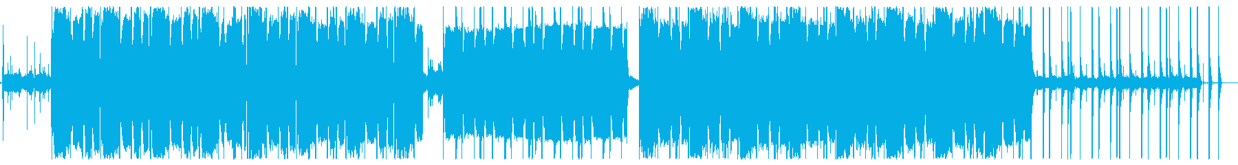チルいビートのローファイ【Lo-Fi】の再生済みの波形