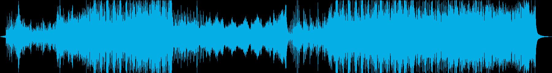 疾走感、スピード感が半端ないオーケストラの再生済みの波形