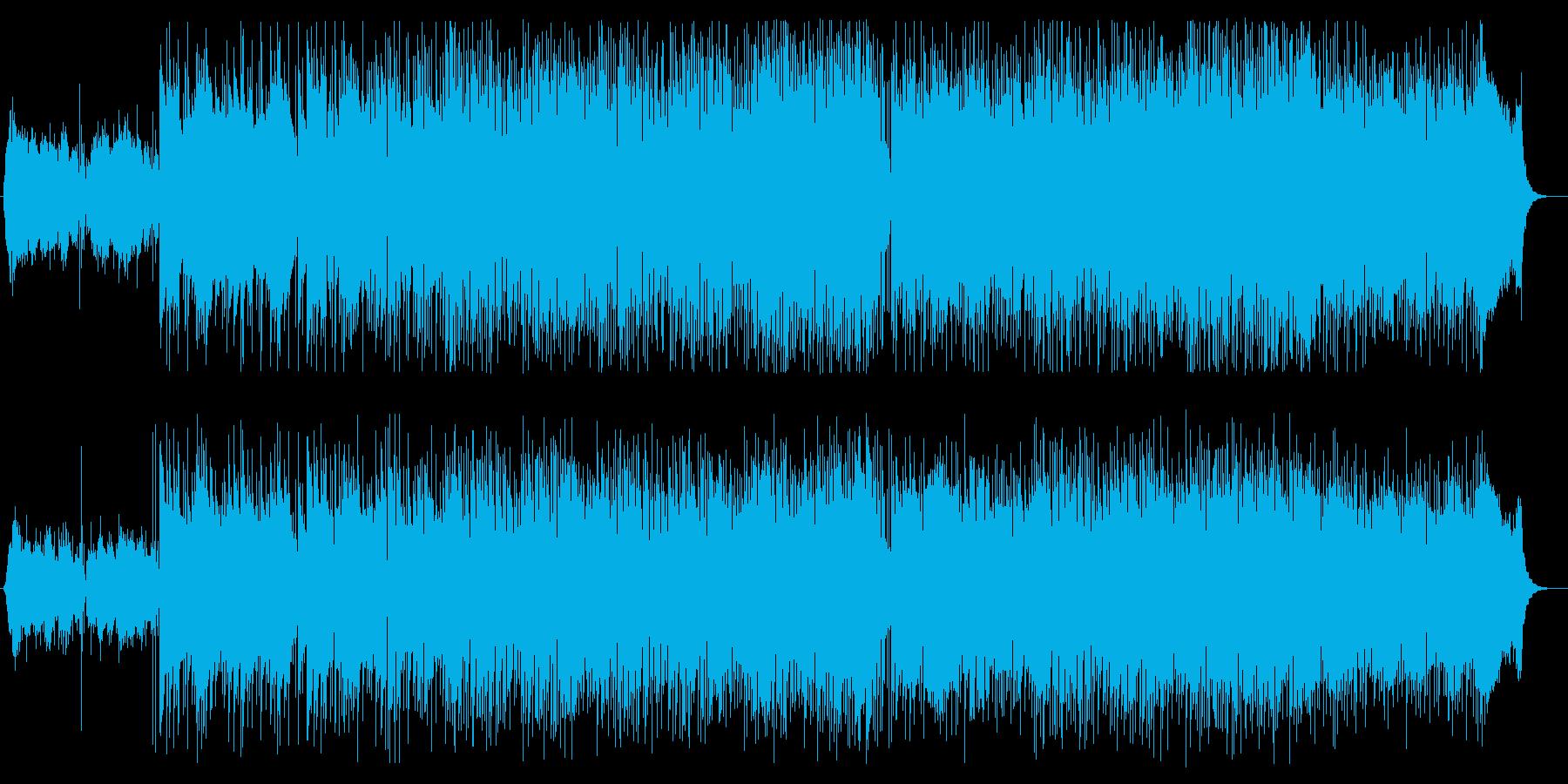 さわやかな日常に最適なメロディの再生済みの波形