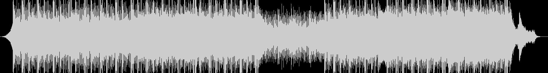 プレゼンテーション用の電子技術音楽の未再生の波形