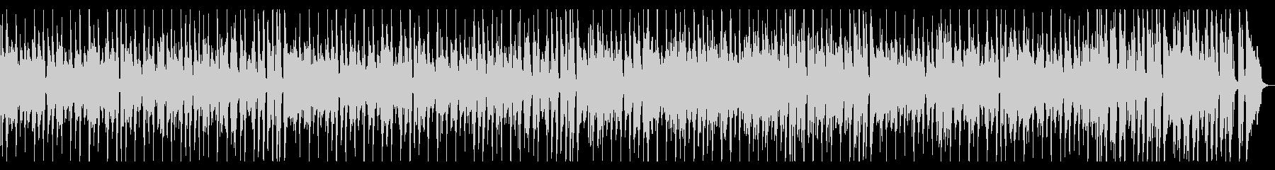カフェムードなコミカルフレンチギターの未再生の波形