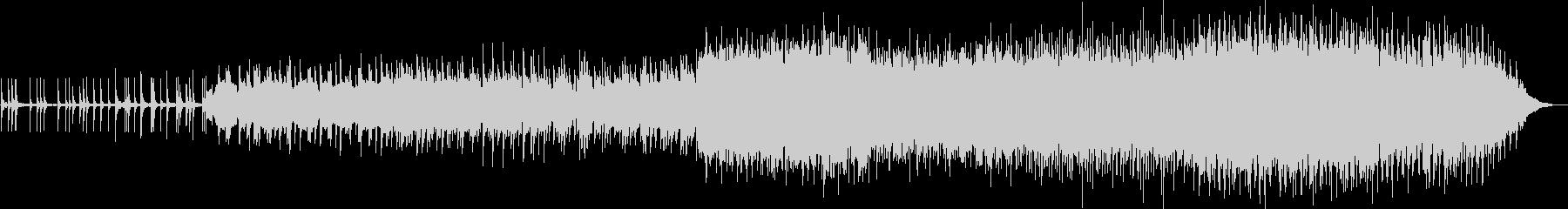 三味線とストリングスの幻想的和風BGMの未再生の波形