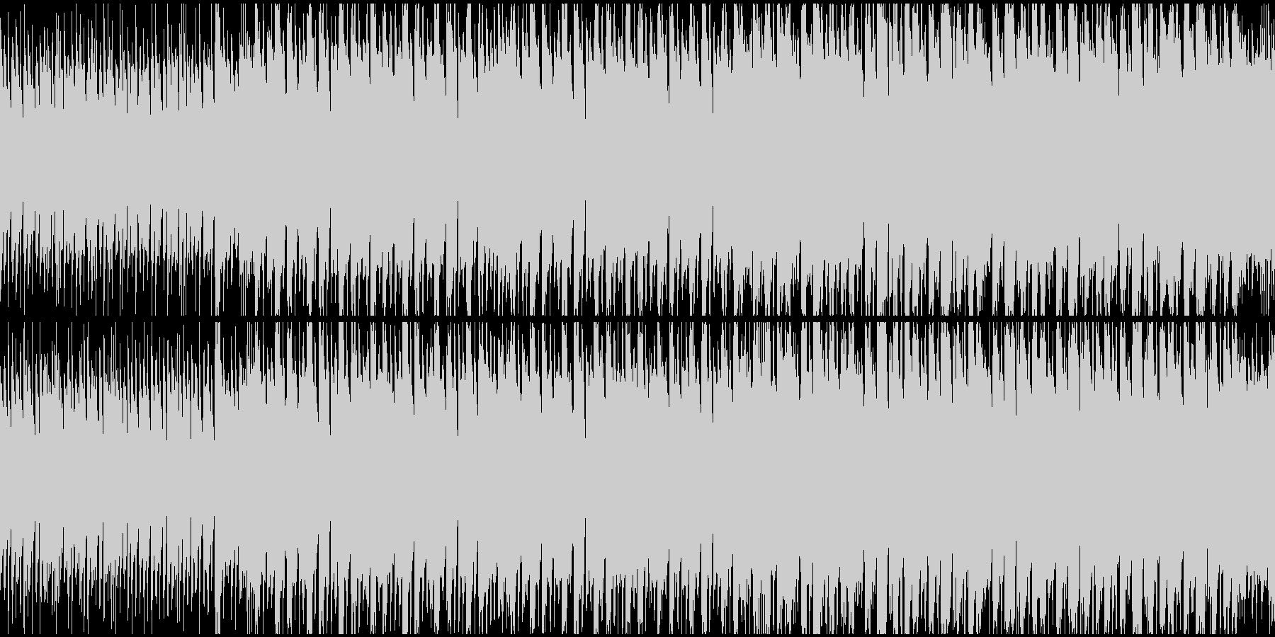 キュートな高速Dnb風ポップ ループ仕様の未再生の波形