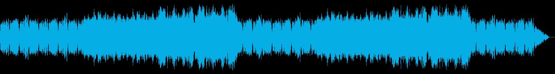 回想中を想起するBGMの再生済みの波形