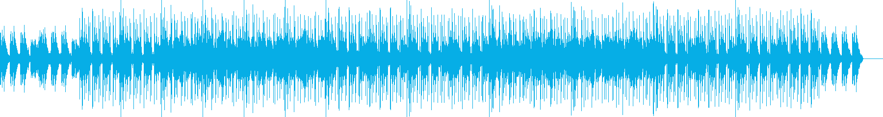 ピアノ、ジャジーHIPHOPに少しニカの再生済みの波形