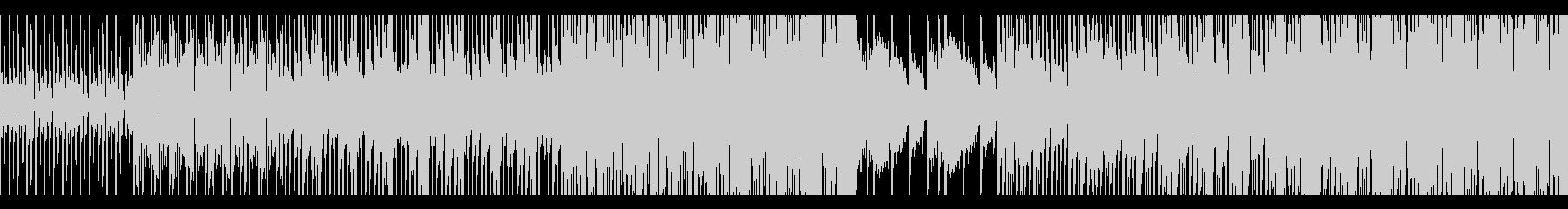 お洒落スタイリッシュなEDM(ループ可)の未再生の波形