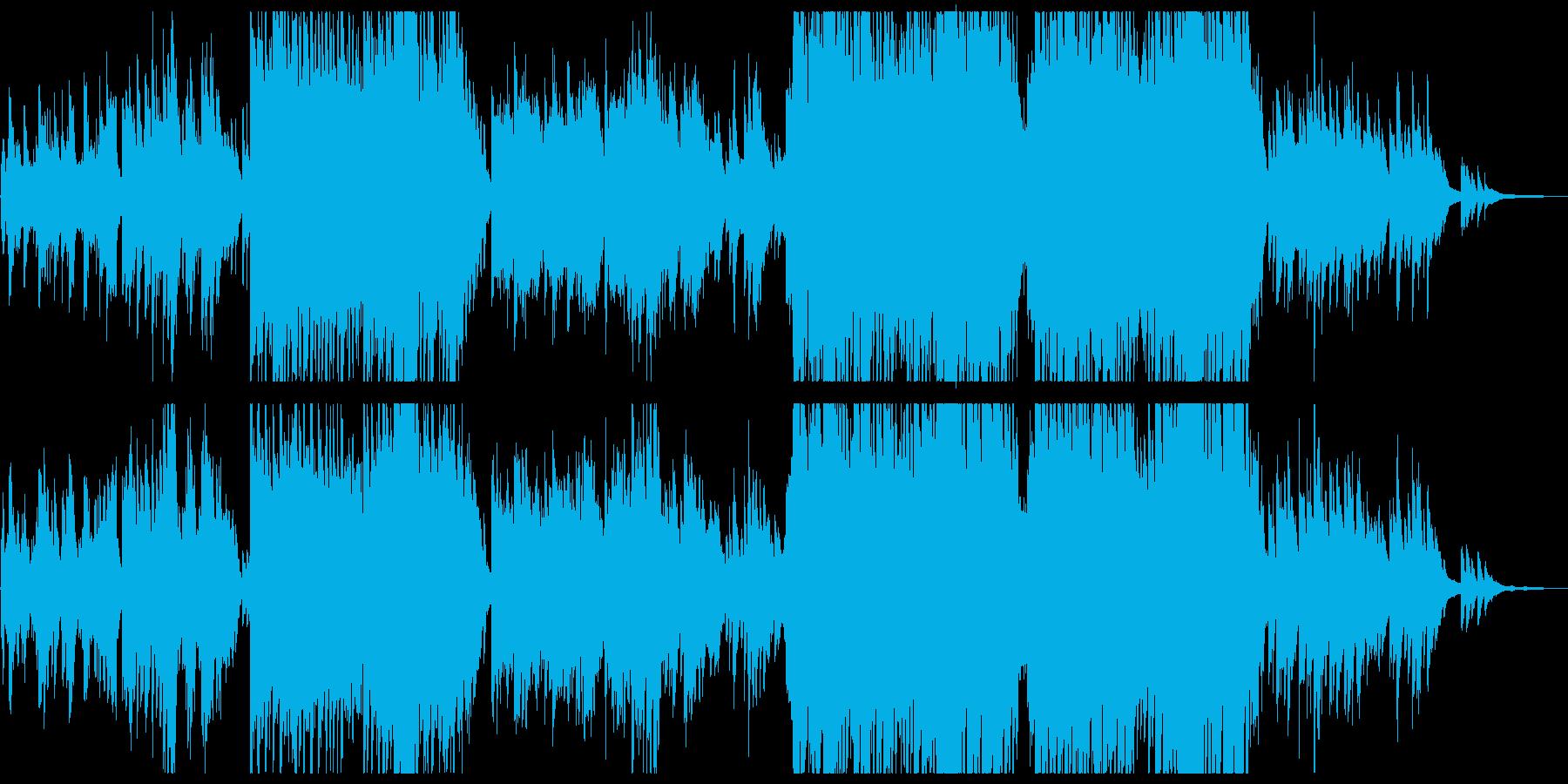 弓張月の再生済みの波形