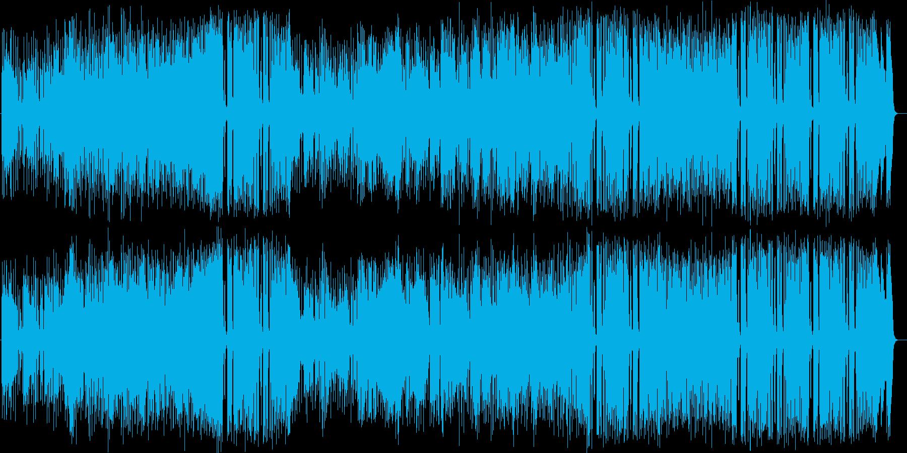 トランペットによる情熱的なジャズの再生済みの波形