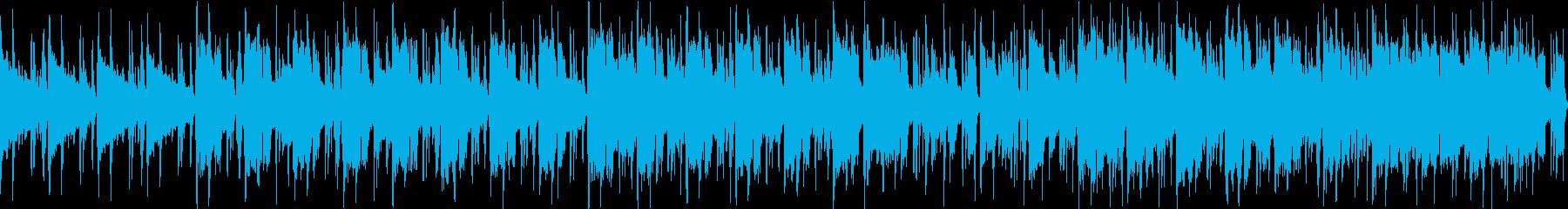 路地裏、足音、がコンセプトな曲の再生済みの波形