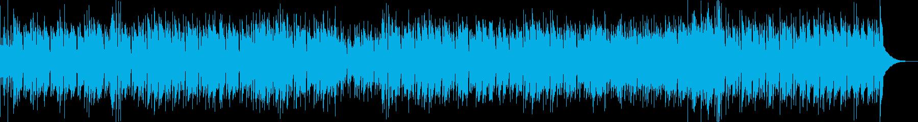 スタンダードジャズ ブラス ラテンビートの再生済みの波形