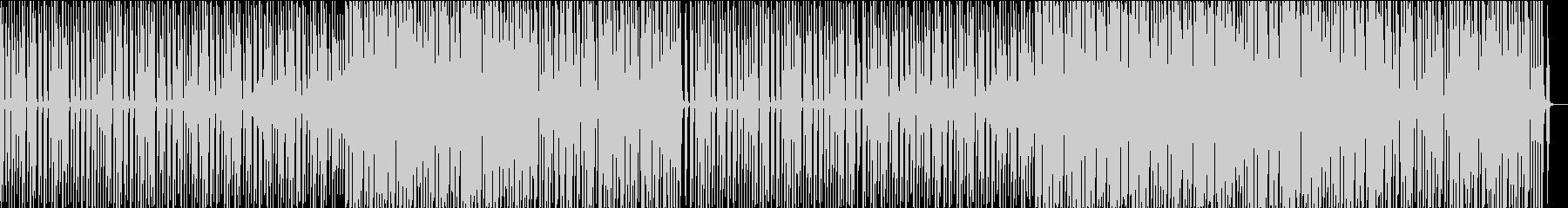 レトロなディスコの未再生の波形