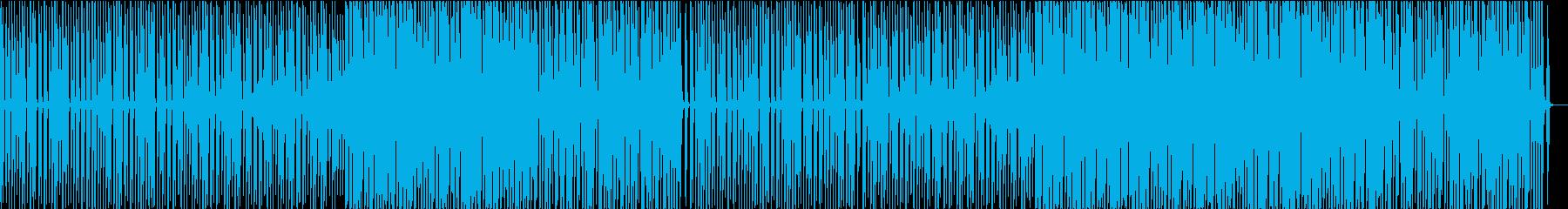 レトロなディスコの再生済みの波形