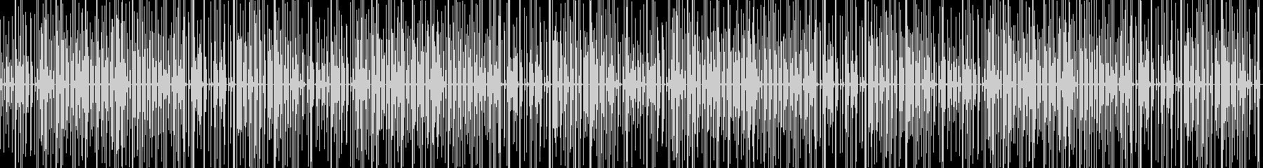 軽快でコミカルな少しとぼけた感じの楽曲の未再生の波形