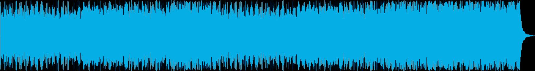 5拍子のバトル系和風楽曲の再生済みの波形