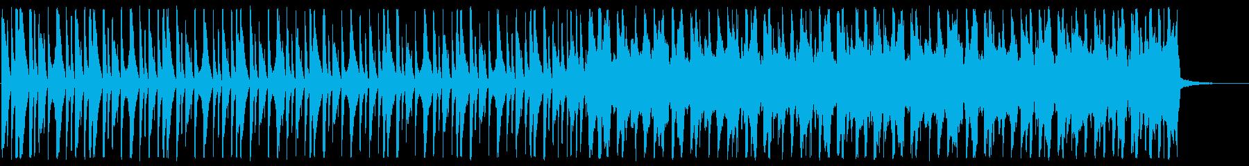 シンプル/ハウス_No671_2の再生済みの波形